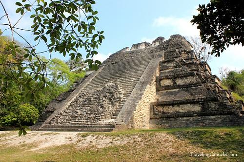 Mayan Temple in Tikal National Park, Guatemala