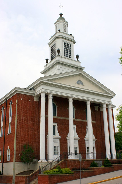 Kingsport's Church Circle: First Baptist Church