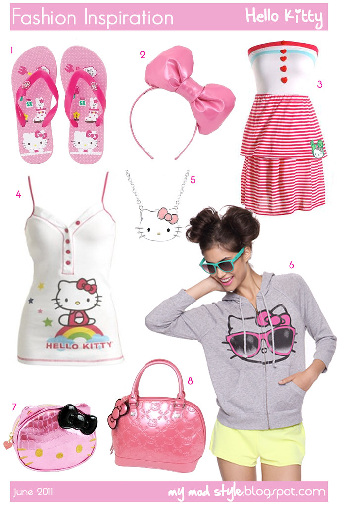 fashion inspiration hellokitty june 2011