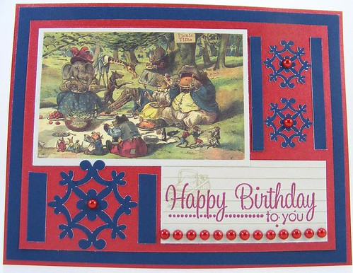 Summer Picnic Birthday Card