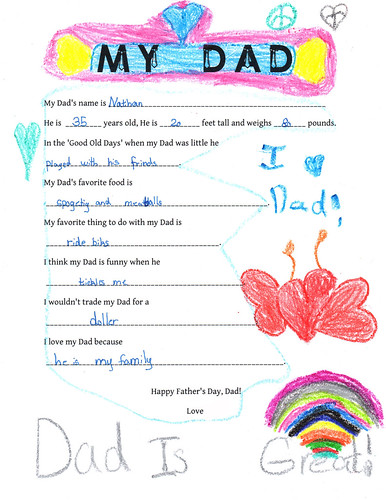 princess' father day letter