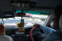 cab with tv