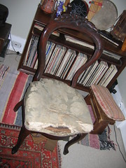 Victorian chair BEFORE