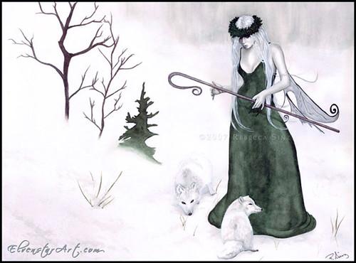 Arctic Queen, by Rebecca Sinz