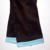 Fleece Weekender Yoga Pants *Leaves on Icy Blue Sky*  18-24 months