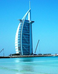 Sail Sitting pretty at the Sea Shore  - A Land Mark of Dubai (Sunciti _ Sundaram's Images + Messages) Tags: tower architecture buildings hotel dubai uae surreal burjalarab 1001nights heritagebuilding burj metalstructure skyscrapper bestshot bluecolour blueribbonwinner 5photosaday anawesomeshot aplusphoto exoticbuildings diamondclassphotgrapher theunforgettablepictures brillianteyejewel concordians flickrestrellas brilliantphotography flickrestrella fabulousflicks abovealltherest brutalshots elitephotgraphy artofimages flickrmasterpieces capturethefinest fabulouarchitecture