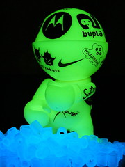 glowtrexiKatrina (nuo2x2) Tags: urban ice night toy toys cool neon glow illuminated glowinthedark trexi limited nuo2x2