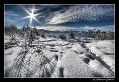 Beauty covered by the snow (Mariusz Petelicki) Tags: winter sun snow landscape poland polska zima gry hdr tatry nieg soce canonefs1022mm 3xp tatramountains krajobraz podhale canon400d aplusphoto mariuszpetelicki vosplusbellesphotos jurw grawierchw tzf1