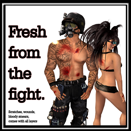 ::::QC Designs:::: Bloody Mess - Fresh from the fight