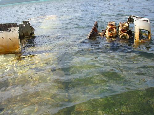 WWII F4u corsair wreck, Vanuatu