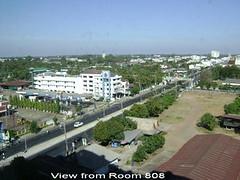 Sunee Grand Hotel Ubon Room view