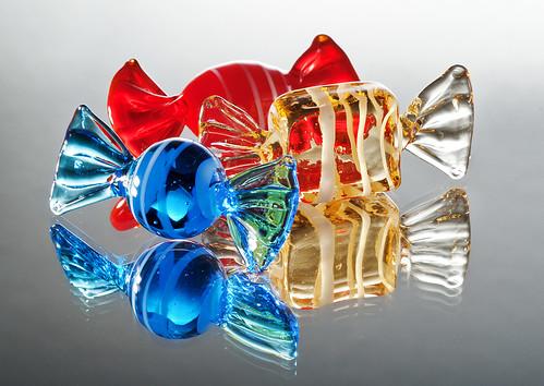 Caramelle di vetro [Glass candies]