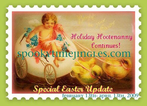 Easter Holiday Hootenanny on stj
