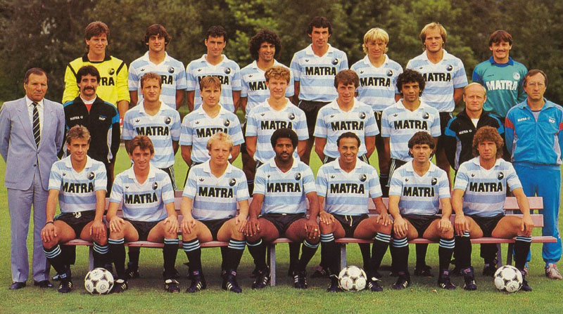 racing paris 1986-87