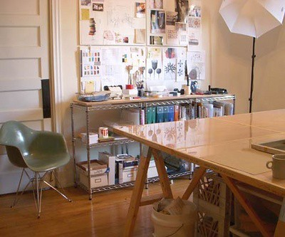 Interiors, Office: Work Studio / Camille Styles