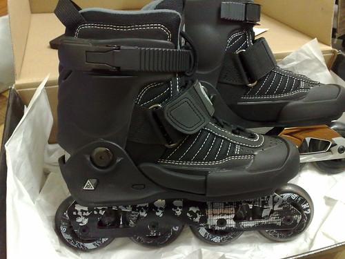 真的很SoftBoot的美國K2平地花式直排輪鞋。