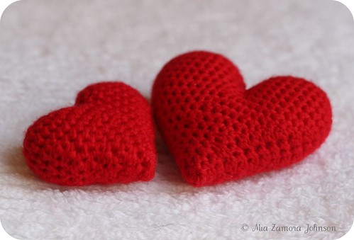 Free hearts pattern- Owlishly