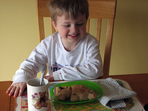 Bear Bread Tea Party