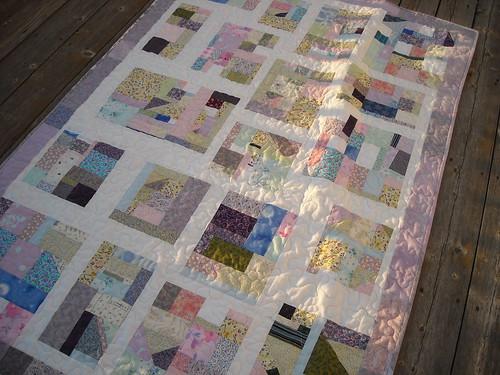 scrap quilt front