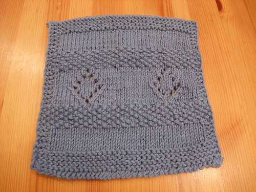 January Mid Month Dishcloth