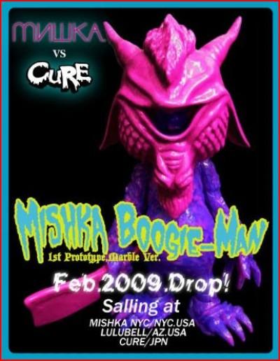 Mishka x Cure Boogie Man