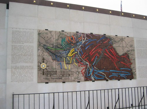Map on Monument, Luxembourg