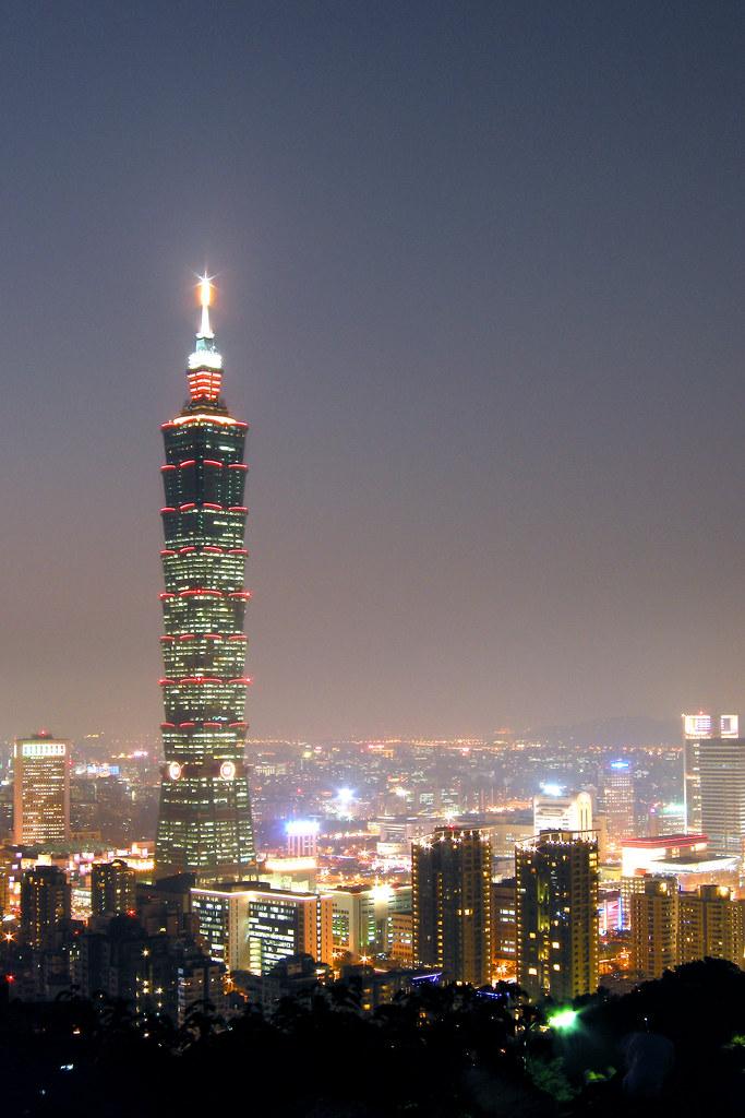 忙碌的台北日落2