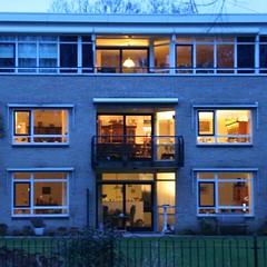 Immeuble collectif sans rideaux en Hollande du Nord