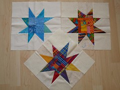 Sterne von Quiltconny- made by Quiltconny