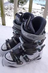 我的新ski boots