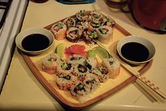 sushi?! (jreidfive) Tags: sushi virginia time first roanoke