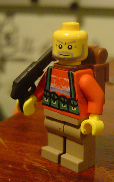 resistance fighter custom minifig