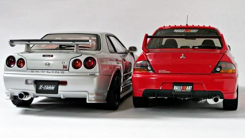 Skyline R34 Gt. Nissan Skyline GT-R (R34)