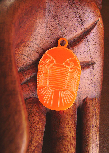 Trilobite Me in Orange