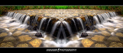 Waterfall Symmetry #2 (REPOST) (AnNamir c[_]) Tags: photoshop canon photography 350d waterfall exposure raw kitlens symmetry malaysia canoneos350d hdr selangor sungai airterjun simetri kualakubu pertak anawesomeshot goldstaraward naturallyartificial spiritofphotography annamir abadaniell peretak muktasyaf mygearandme mygearandmepremium mygearandmebronze mygearandmesilver mygearandmegold mygearandmeplatinum mygearandmediamond