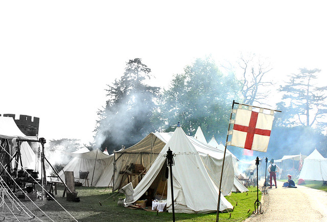 re-enactment camp