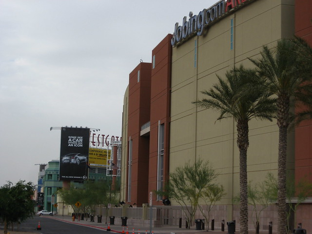 Jobing.com Arena, Home of the Phoenix Coyotes, in new Westgate