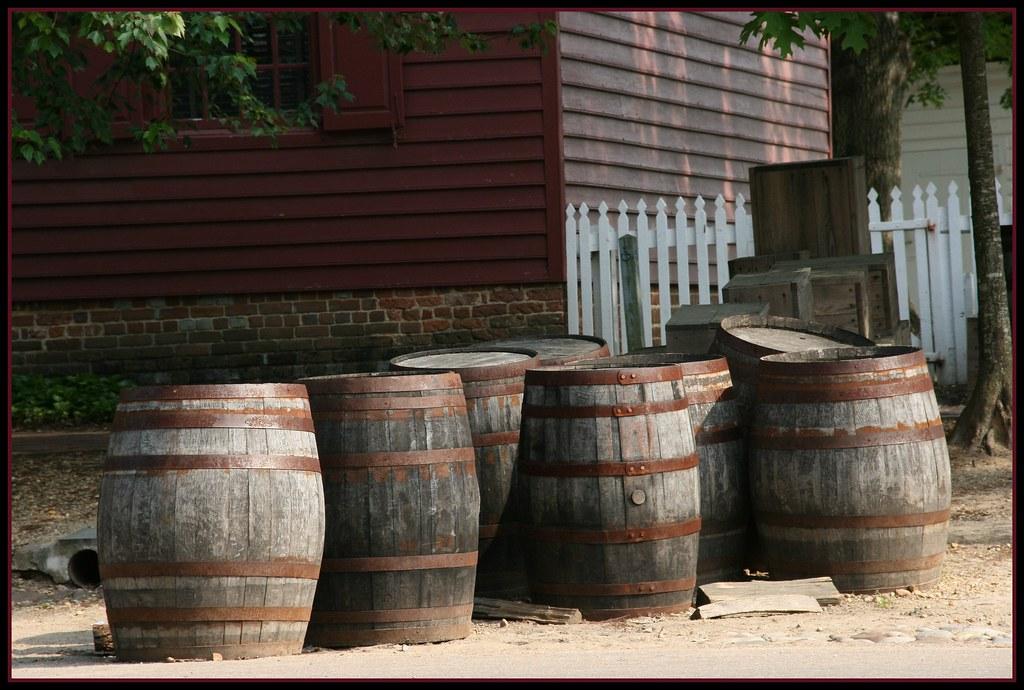 Williamsburg, Virginia - Barrels