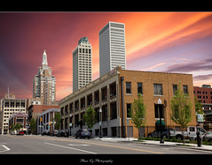 Downtown Tulsa OK(EXPLORE  FP) (熊.陈美芬.Phan Ly Photography.On/Off) Tags: travel oklahoma me church canon photography eos photo downtown mark ii 5d tulsa favs d5 phan faved naturesfinest supershot top20colorpix markll anawesomeshot citrit overtheexcellence goldstaraward goldenheartaward