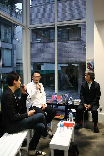 Taisuke Koyama × Kouichiro Tanaka with Shigeo Goto @ NADiff
