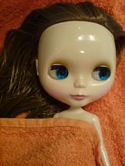 After the shower - Después de la ducha
