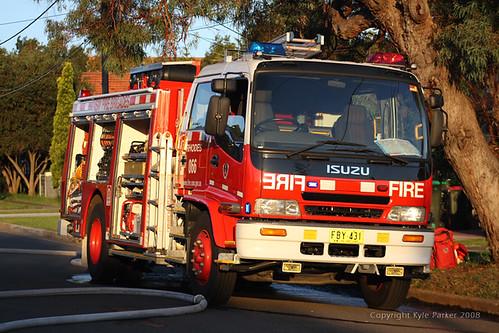 North Strathfield Garage Fire