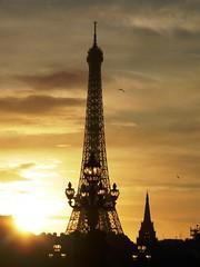 The Eiffel Tower (Frimm) Tags: sunset paris france tower eiffel