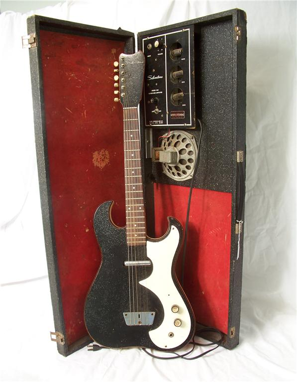 The guitar hunter silvertone 1448 amp in case guitar sears 243100579o cheapraybanclubmaster Image collections