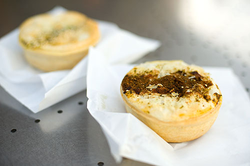 Pies at Melbourne's Queen Vic Market