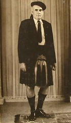 George Maxwell in kilt