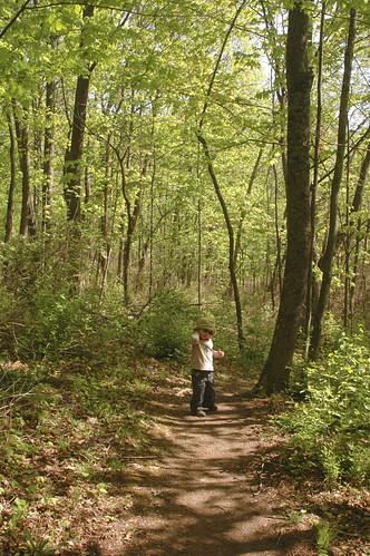 hiking at the narrows