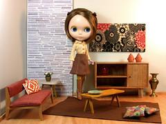 At home...