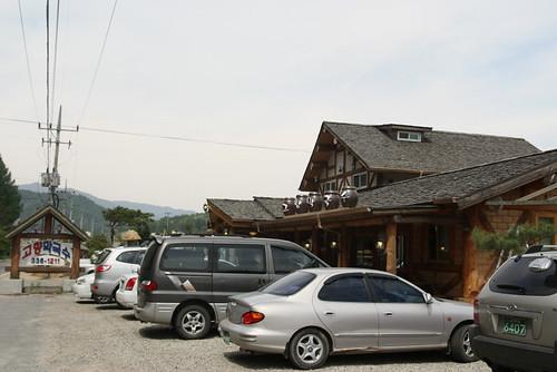 봉평 메밀 음식점