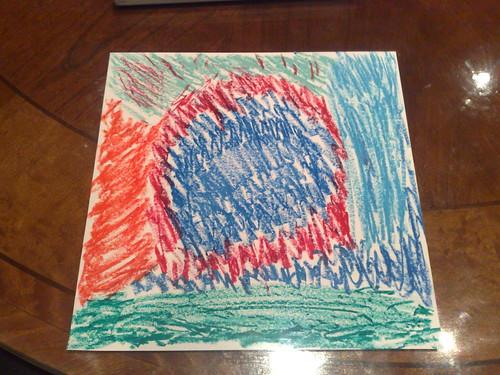 我的超心靈繪畫解析